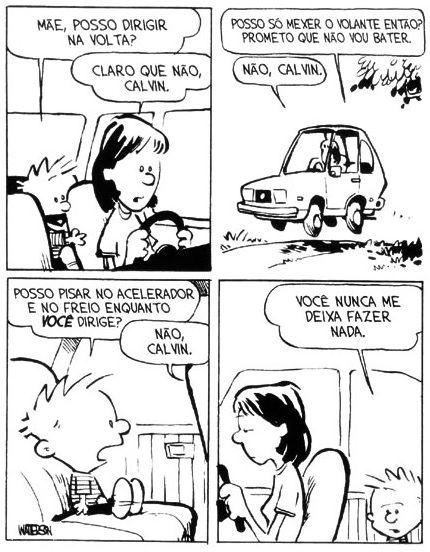 Calvin e Haroldo: Tirinha nº 9