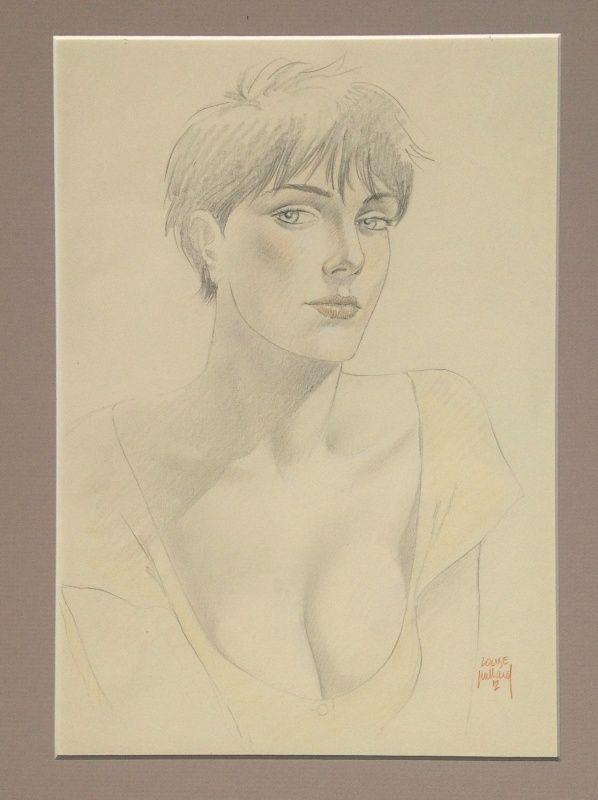Louise, Le cahier bleu par André Juillard