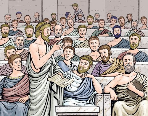 a report on the direct democracy practiced in athens Classical athens had a type of direct democracy that included direct athens had a democracy the athenian constitution and their culture in practice.