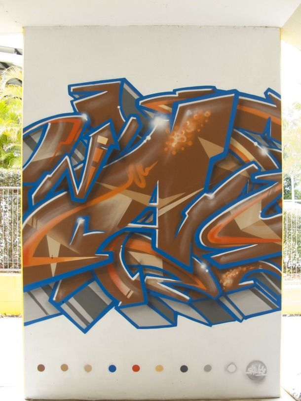 Calvary Christian College Arts Fest 2014 - Blog - Aerograffix - Quality artwork handcrafted by artist Sauce  #aerosolart #streetart #mural #graffiti #brisbaneart