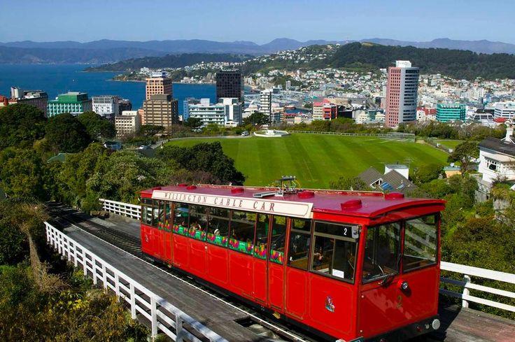 Wellington Cable Car Reviews : Wellington places to visit