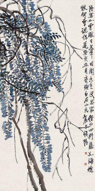 Qi Baishi's Vines | Chinese Painting | China Online Museum