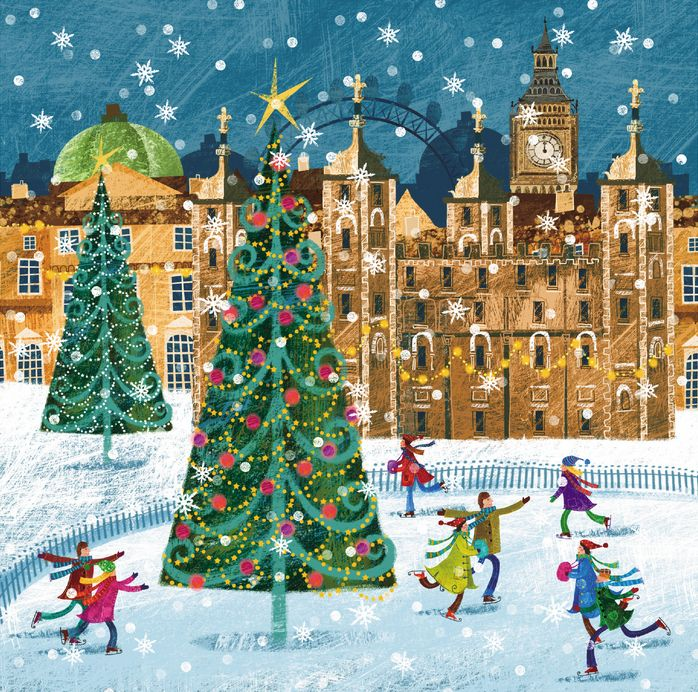 Multiple Sclerosis Trust Christmas card see the top 50