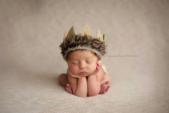 Newborn crown Max crownNewborn boy Photo prop by thetreetopshoppe