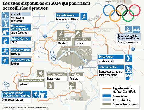 JO 2024 : Les sites incontournables d'une candidature de Paris. A l'occasion de la remise de l'étude d'opportunité, le Comité Français du Sport International (CFSI) a levé le voile sur certains sites jugés incontournables dans le cadre d'une candidature olympiq...