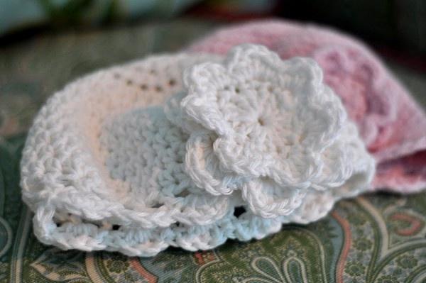 Crochet Baby cloche