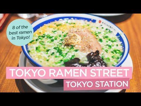 Tokyo Ramen Street - 8 of the Best Ramen Shops at Tokyo Station