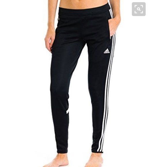 """Adidas ClimaCool Soccer pants Great condition climacool trainers. Tag got torn off so I'm not 100% sure of the size but I'm usually a 6 in pants and these are a roomy fit. I'm also 5'8"""" and they are a little bit long for me. Price negotiable :) offer button pls Adidas Pants Track Pants & Joggers"""