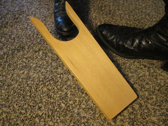 Boot Jack Accessory to help remove boot Great Gift for her or Gift for Him Equestrian Boot Pull  Boot Jack  Boot Puller  BootJack.
