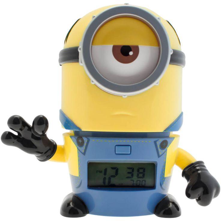 BulbBotz Minions Mel Clock #Fanartikel #uhren #minions