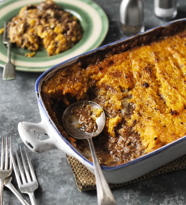 A tasty squash and turkey bake from Nigel Slater