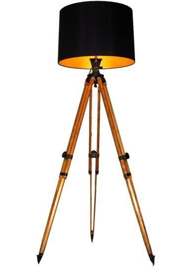 17 Best Images About Diy Wood Tripod Floor Lamp On