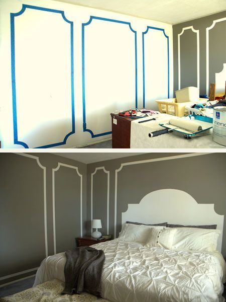 1000 ideas about painters tape design on pinterest for Cool designs to paint on bedroom walls