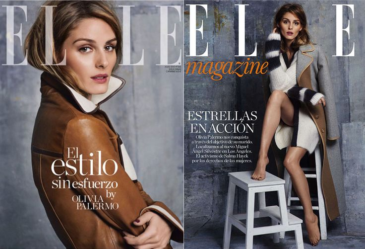 Olivia Palermo by Johannes Huebl for Elle España July 2015. Styled by Inmaculada Jiménez.