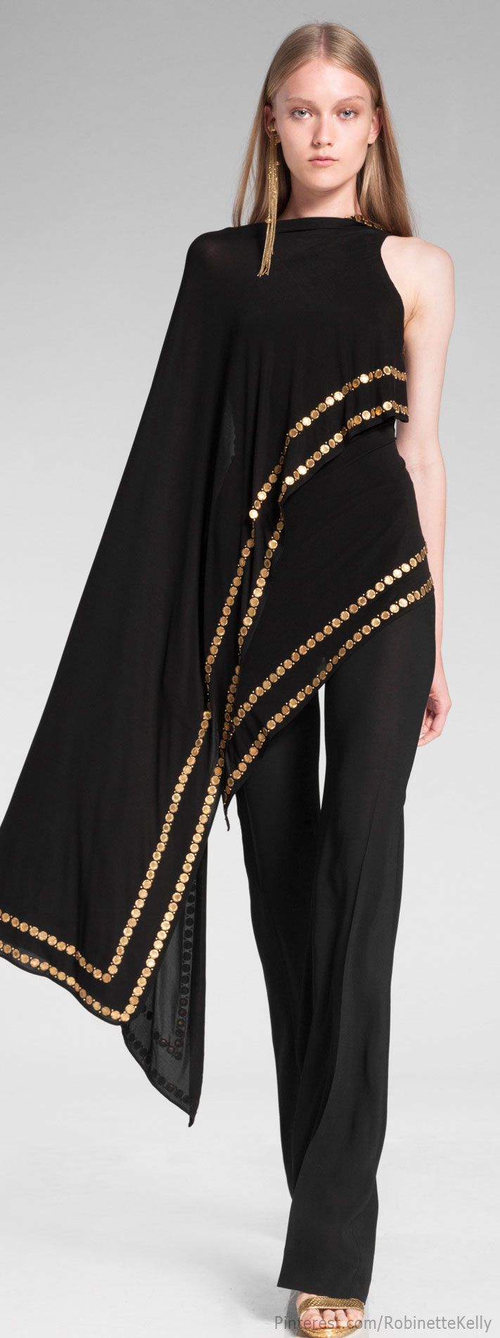 Donna Karan Resort 2014 - very belly dancer chic!