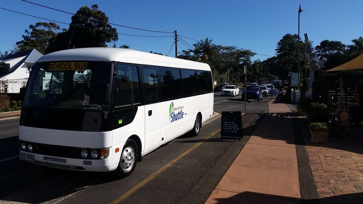 Tamborine mountain shuttle bus, goes wherever you want to go