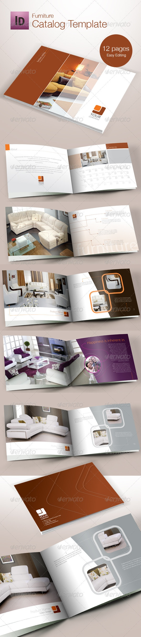 GraphicRiver Catalog Template 1523599