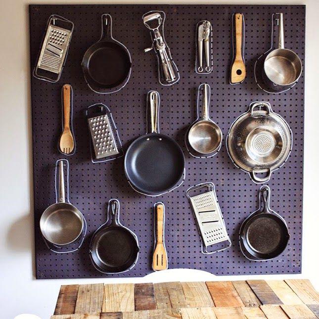 Фото из статьи: 10 мест дополнительного хранения на кухне, о которых вы и не знали