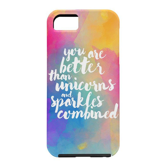 Hello Sayang Better Than Unicorns Cell Phone Case | DENY Designs Home Accessories