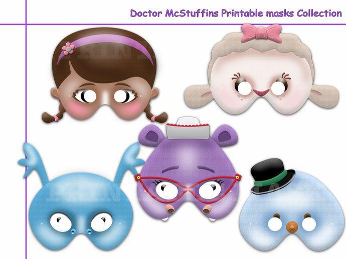 Unique Doctor McStuffins Printable Masks…
