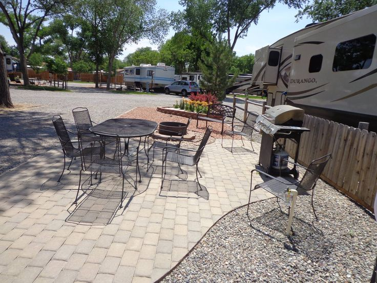 Patio RV Site At The Grand Junction KOA Holiday · Rv Sites