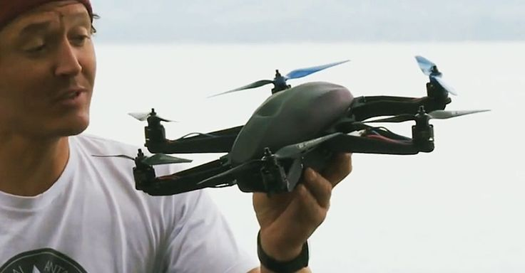 Film Your Life Like a First-Person Shooter With This Camera Drone