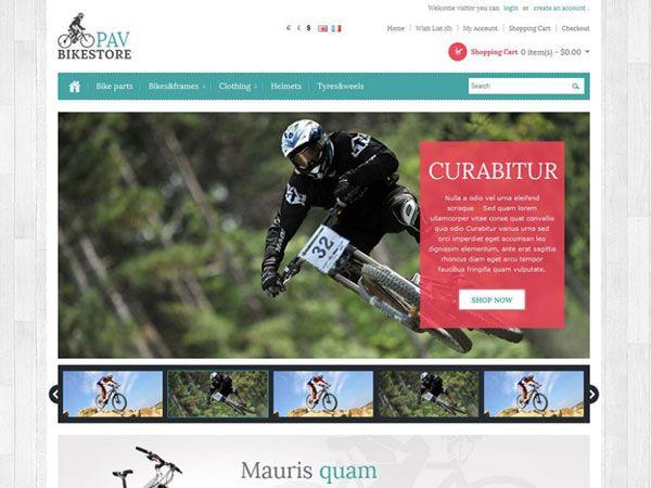 Pav Bike OpenCart Theme