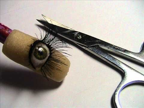 ~  Make 3d acrylic eye. She does amazing work! ~