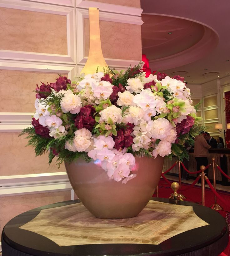 Best hotel flower arrangements images on pinterest