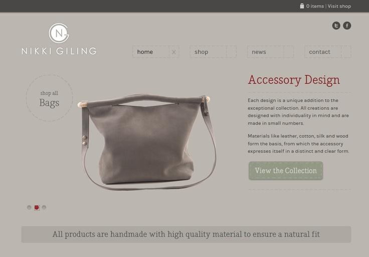 Webwinkel - Nikki Giling Accessory Design - www.nikkigiling.com