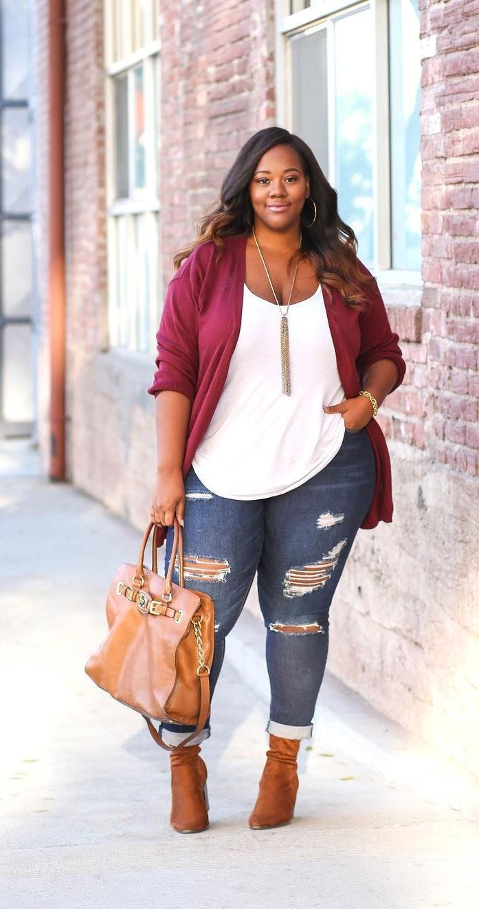 25 casual plus size winter outfits you have to try | Fashion - Plus ...