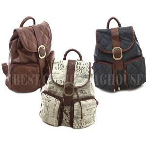 WOMEN★Pretty Backpack★Bookbag★School bag★Campus bag