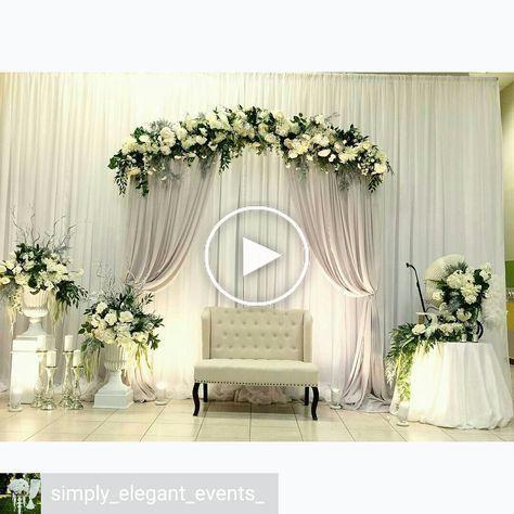 pin di dekorasi pernikahan
