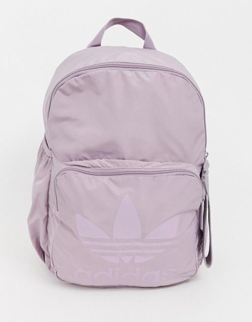 adidas Originals Sleek backpack in purple  62c1202463115