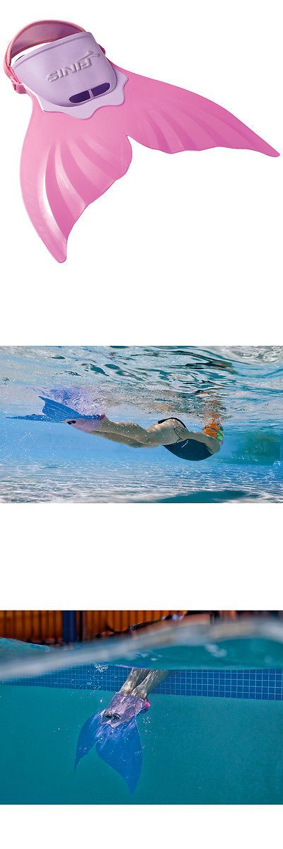 Training Aids 159175: Finis Mermaid Swim Fin - Pink -> BUY IT NOW ONLY: $33.99 on eBay!