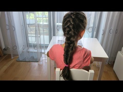 DIY Frozen Braided Hair Style. Learn how to Braid