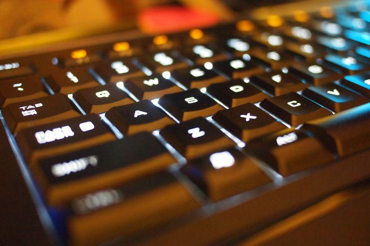 Perfect keyboard for the night owls - Logitech Illuminated Keyboard