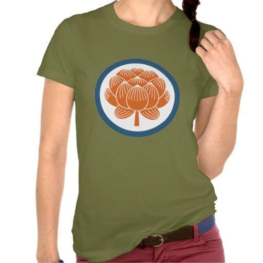 Lotus Flower Kamon T Shirts