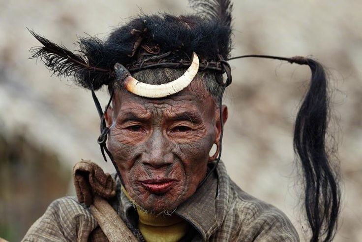 The Konyak are a Naga people, and are recognised among other Naga by their…