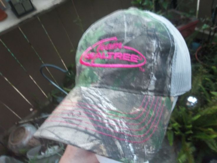 Team Realtree Womens Mesh Hat Adjustable Cap Camouflage #Realtree