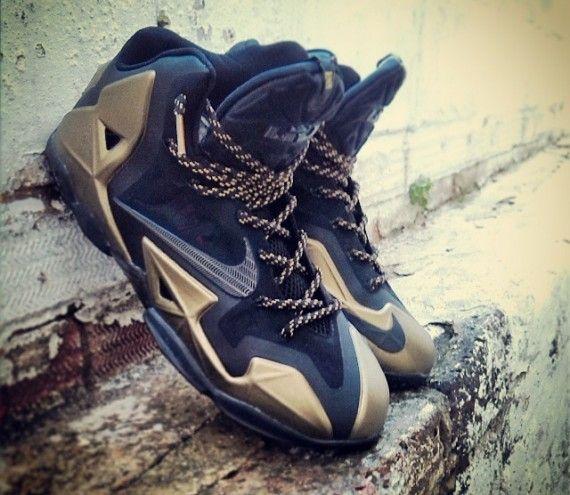 Nike LeBron 11   Black Gold