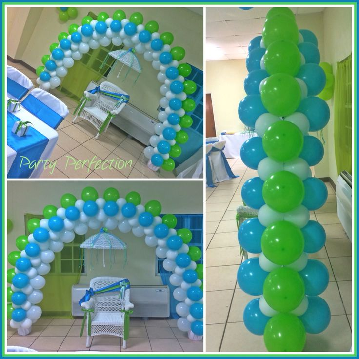 Little man arch by glenda balloon decorations for Arch decoration ideas