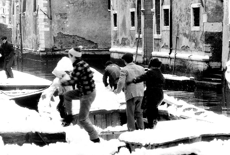 Venezia con la neve. 5 -