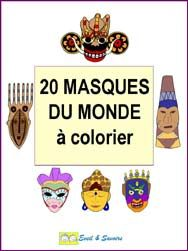 masques coloriage en maternelle