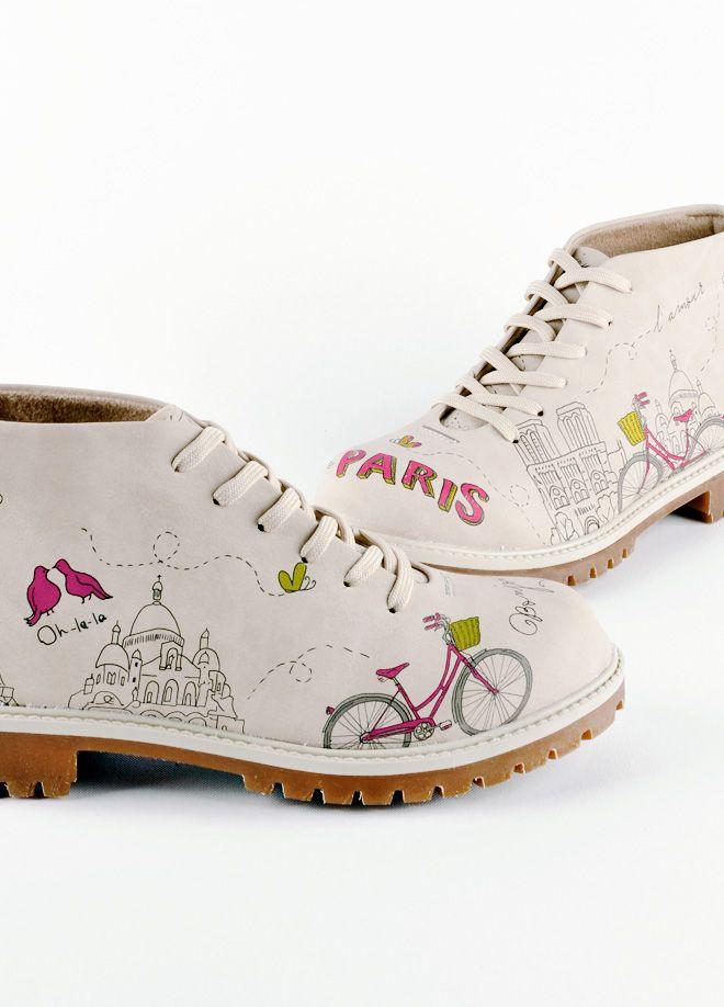 Dogo Store - Shoes > Ms. Dogo > Bootz > Leather > Paris