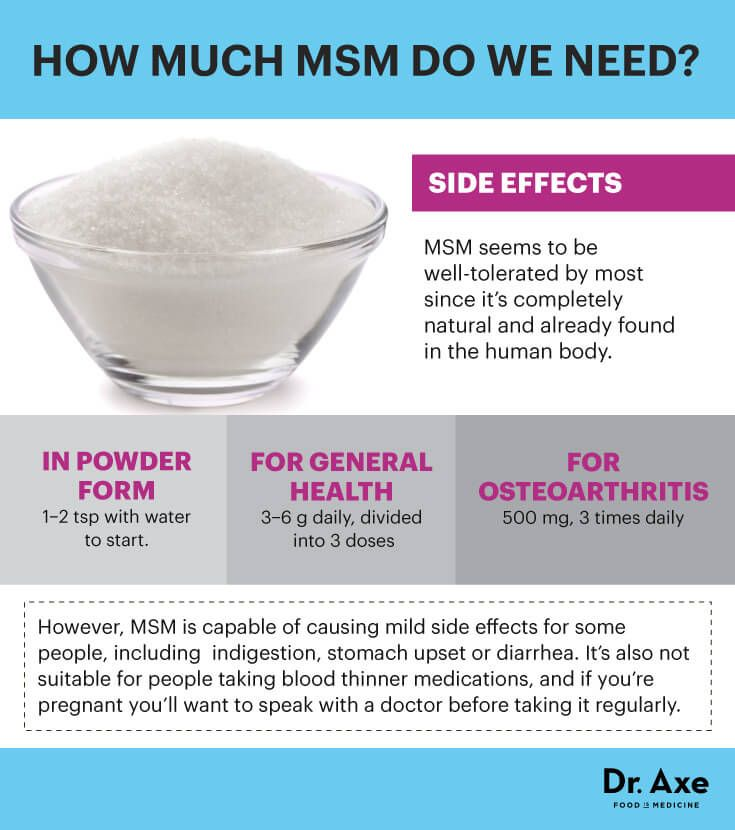 MSM supplement dosages - Dr. Axe http://www.draxe.com #health #Holistic #natural