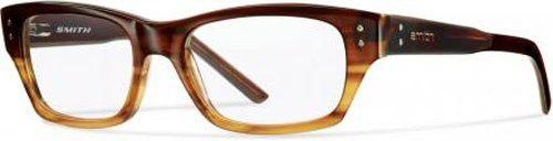Smith Optics Bradford Mens/Womens Optical Newest Collection Designer Full-rim Flexible Hinges Eyeglasses/Spectacles (50-17-135, Gradient Brown)