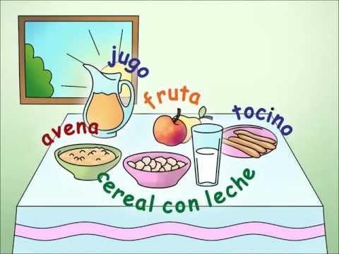 Preschool Spanish Lesson 4: Tiene hambre - SPANISH MAMA
