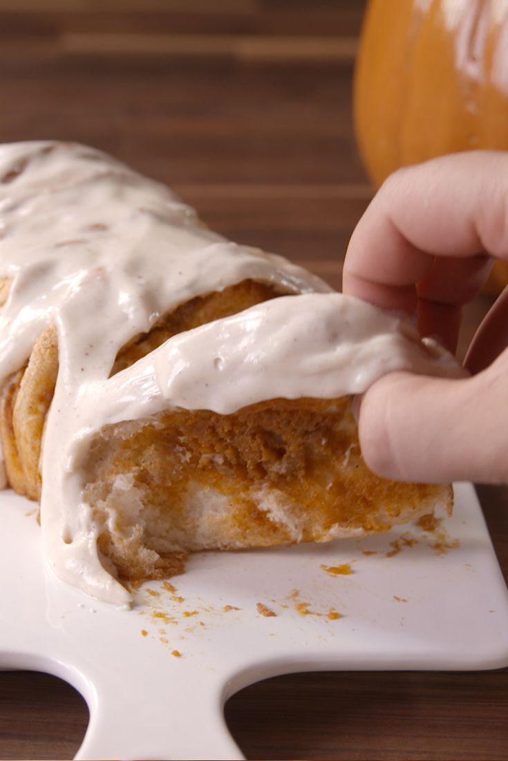 Best Pumpkin Spice Pull-Apart Bread Recipe - How To Make Pumpkin Spice Pull-Apart Bread - Delish.com