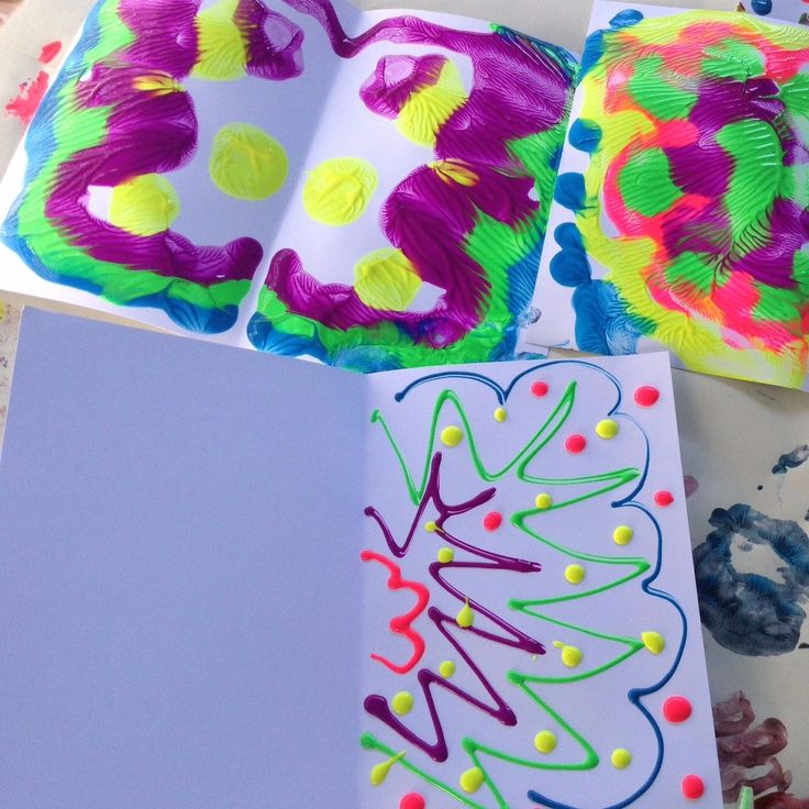 CREATE: Butterfly Paintings